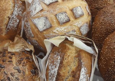 boulangerie, nos pains, la cerise sur le gateau poussan